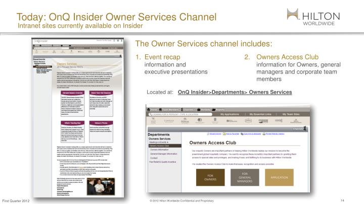 PPT - Owner Services PowerPoint Presentation - ID1628872