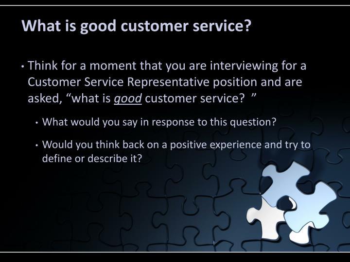 PPT - Customer Service PowerPoint Presentation - ID1631872