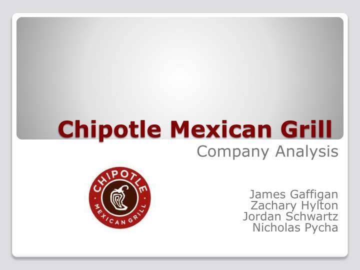 PPT - Chipotle Mexican Grill PowerPoint Presentation - ID1655220