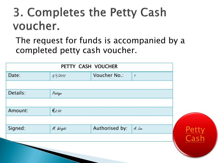 PPT - Petty Cash PowerPoint Presentation - ID1656958