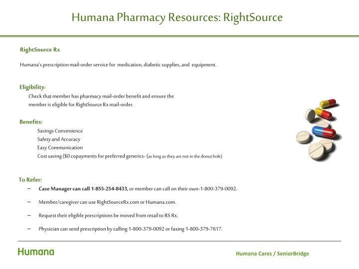 PPT - Humana Cares SeniorBridge Internal/External Referrals