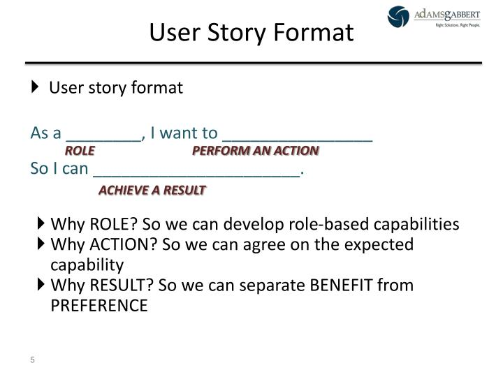 PPT - User Stories in an Agile Environment Mike McLaughlin, PMP, CSM