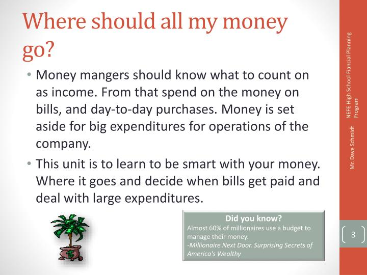 PPT - Budgeting Making the Most of Your Money PowerPoint
