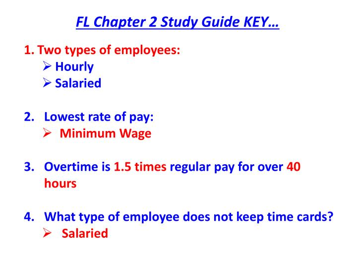 PPT - FL Chapter 2 Study Guide KEY\u2026 PowerPoint Presentation - ID1675197