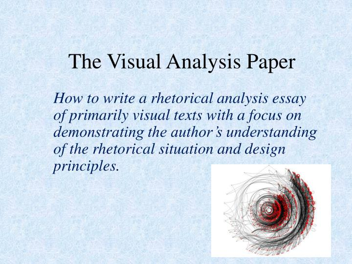 PPT - The Visual Analysis Paper PowerPoint Presentation - ID1691772