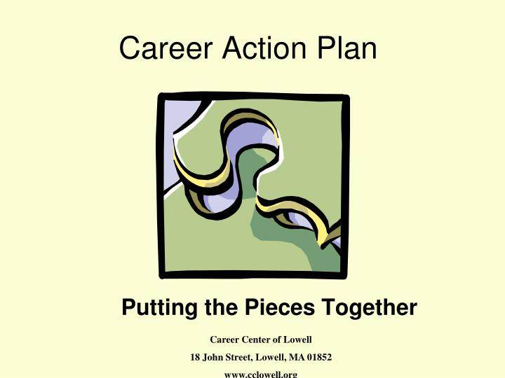 PPT - Career Action Plan PowerPoint Presentation - ID1707013
