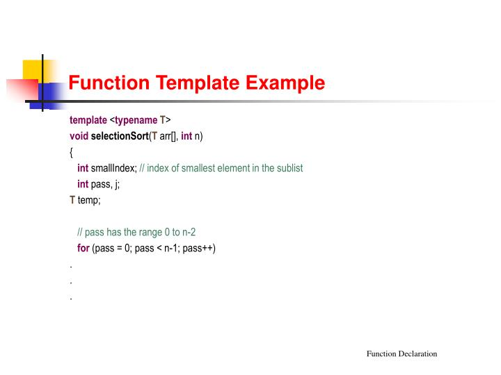 PPT - C++ Templates PowerPoint Presentation - ID1719799