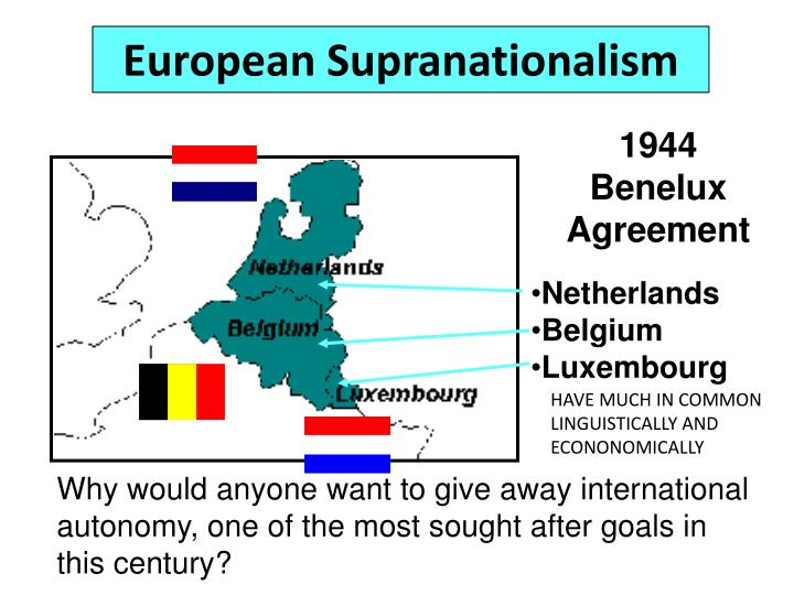 PPT - SUPRANATIONALISM and DEVOLUTION PowerPoint Presentation - ID