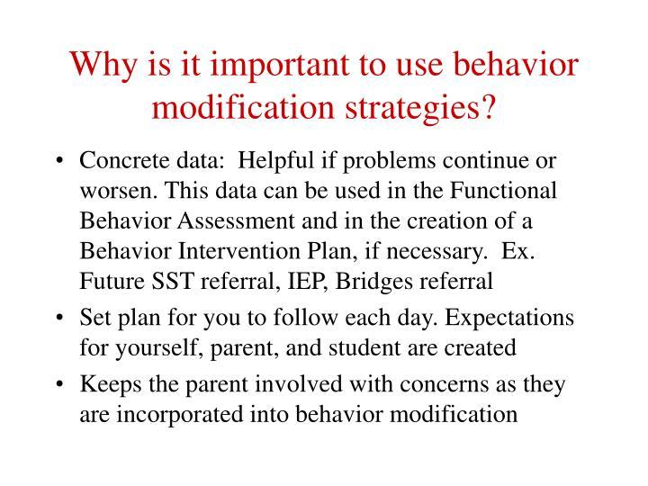 behavior modification plan - Onwebioinnovate