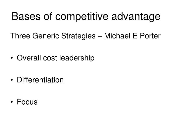 PPT - Business Level Strategy PowerPoint Presentation - ID1757764 - porter's three generic strategies