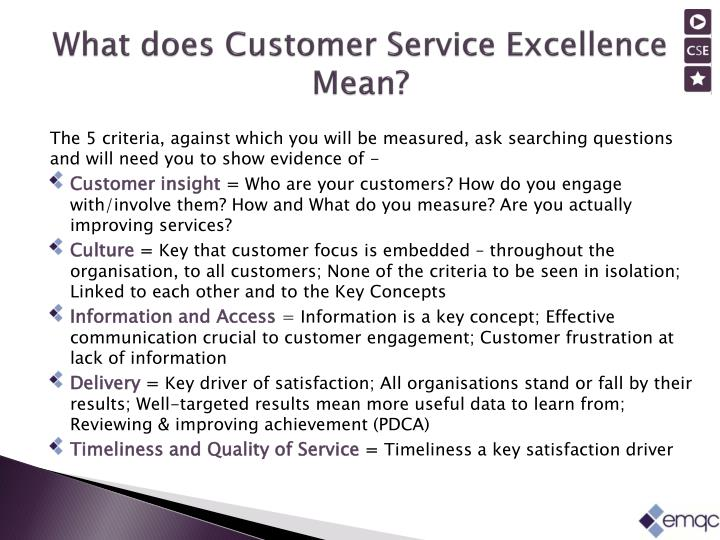 PPT - A practical t ool for driving customer-focused change