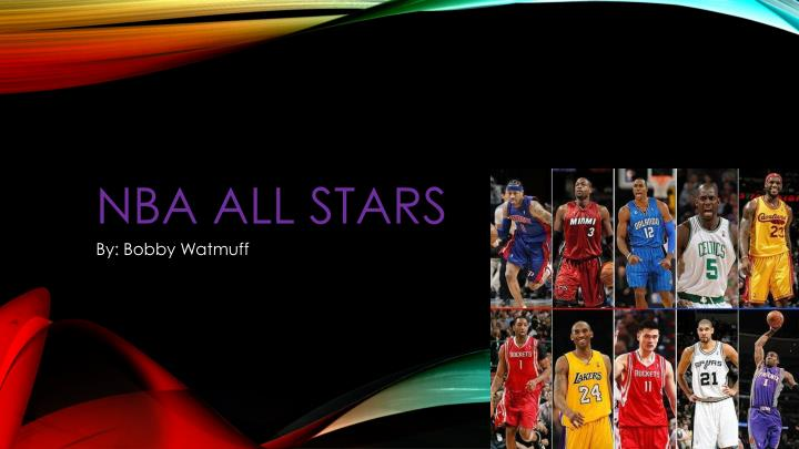 PPT - NBA ALL STARS PowerPoint Presentation - ID1849602