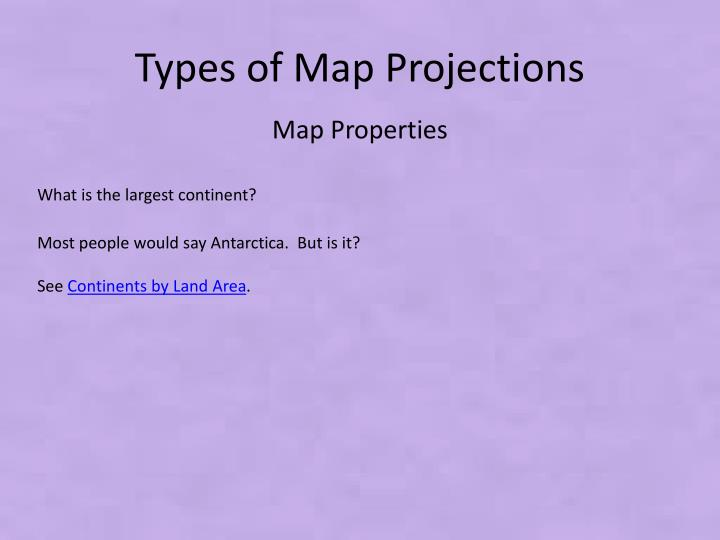 PPT - Map Projections and How they are Made PowerPoint Presentation
