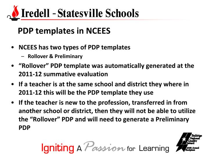 PPT - Teacher\u0027s PDP for the 2012-13 School Year PowerPoint - pdp templates