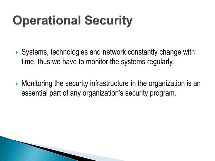 PPT - Operational/Organizational Security PowerPoint Presentation