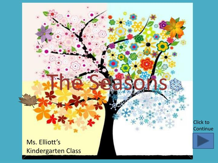 PPT - The Seasons PowerPoint Presentation - ID1927606