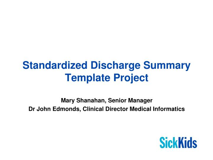 Discharge Summary Template - Costumepartyrun - discharge summary template