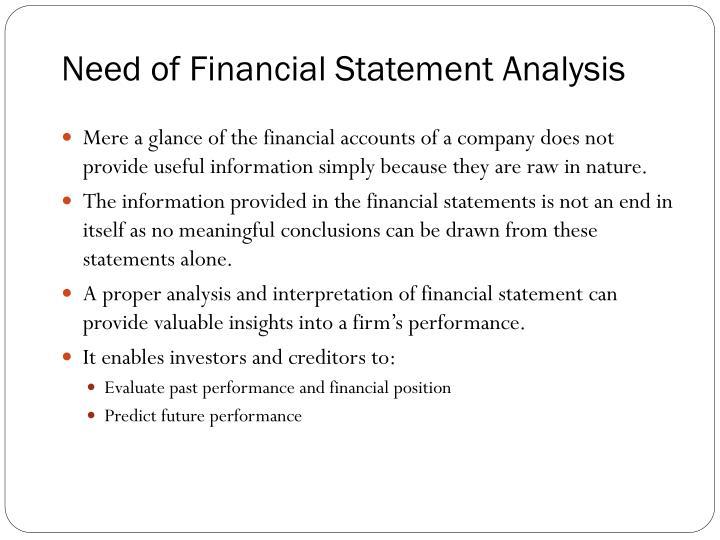 PPT - Financial Statement Analysis PowerPoint Presentation - ID2052953