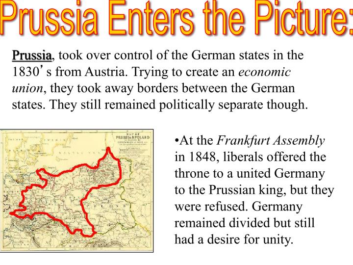 PPT - Unification of Germany PowerPoint Presentation - ID2079589