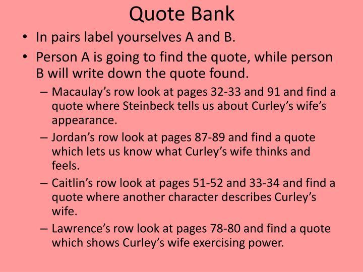 PPT - Curley\u0027s wife tart/jailbait or naïve/victim? PowerPoint