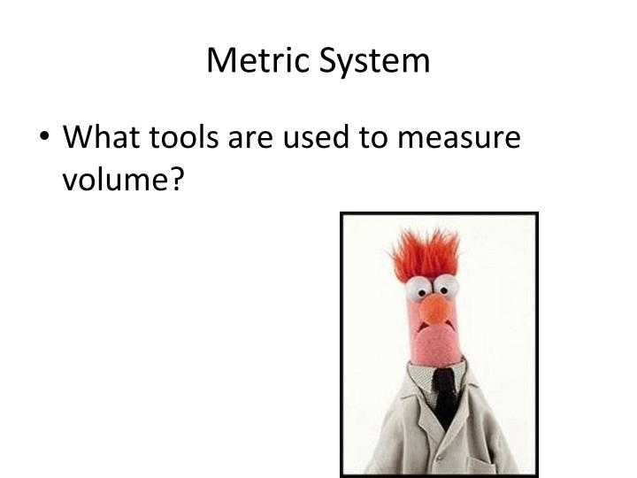 PPT - Metric System PowerPoint Presentation - ID2108850 - tools to measure volume