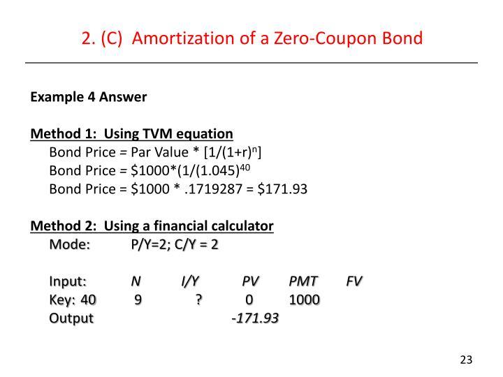 Taxes on zero coupon bonds  Times deals ghaziabad - amortization bonds
