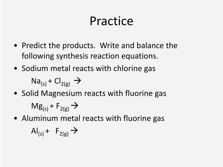 PPT - Chemical Reactions PowerPoint Presentation - ID2185792