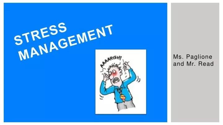 PPT - Stress Management PowerPoint Presentation - ID2196032