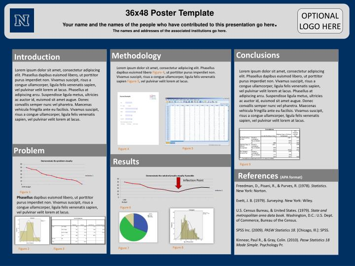 poster board layout template