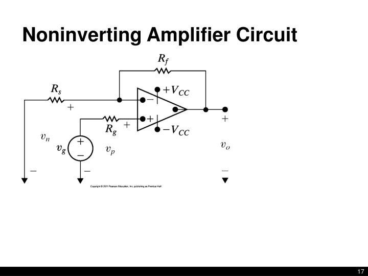 circuit simulator noninverting amplifier