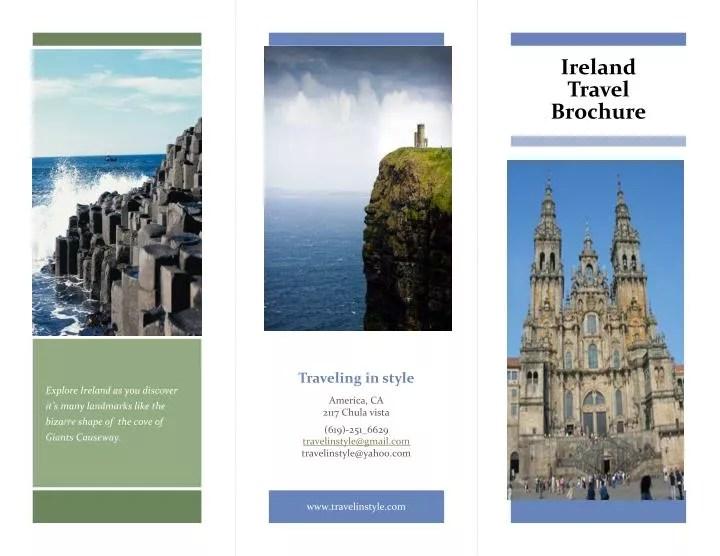 PPT - Ireland Travel Brochure PowerPoint Presentation - ID2337810