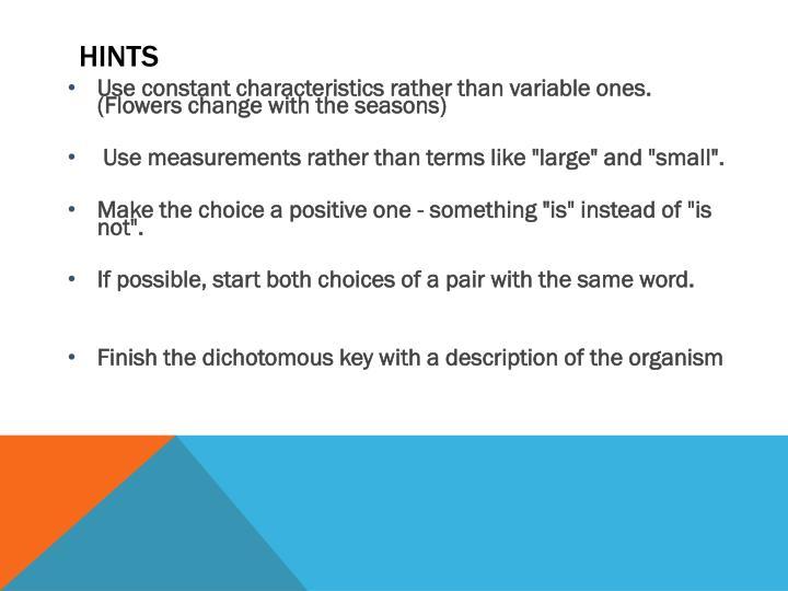 PPT - Dichotomous Keys PowerPoint Presentation - ID2429973 - dichotomous key template word