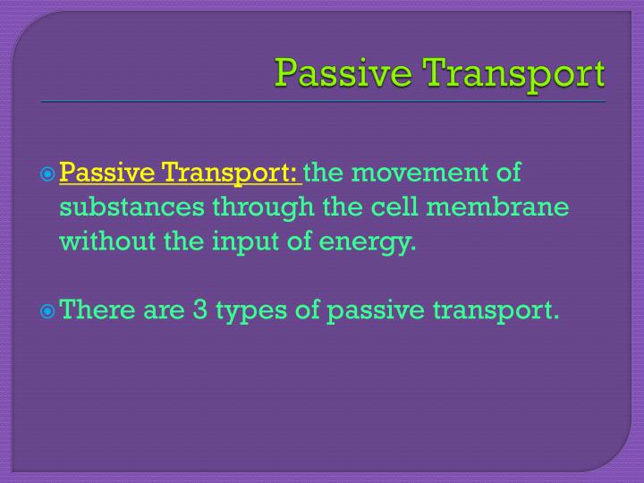 PPT - Chapter 3, Section 2 Moving Cellular Materials PowerPoint