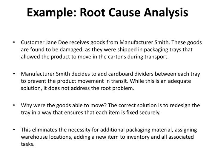 PPT - RCA  Root Cause Analysis PowerPoint Presentation - ID2450190