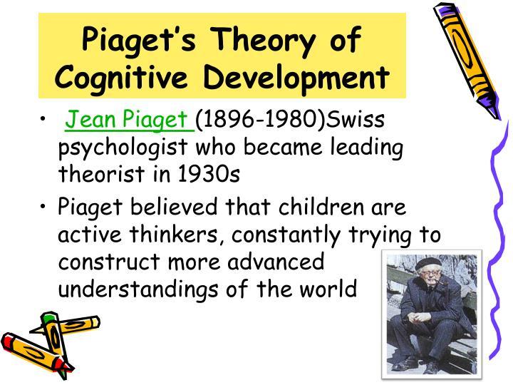 piaget theory of cognitive development - Artij-plus