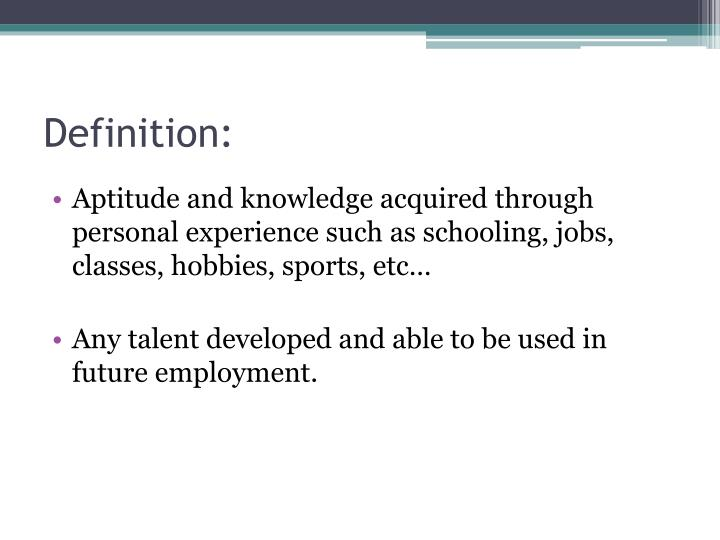 transferable skills definition - Pinarkubkireklamowe
