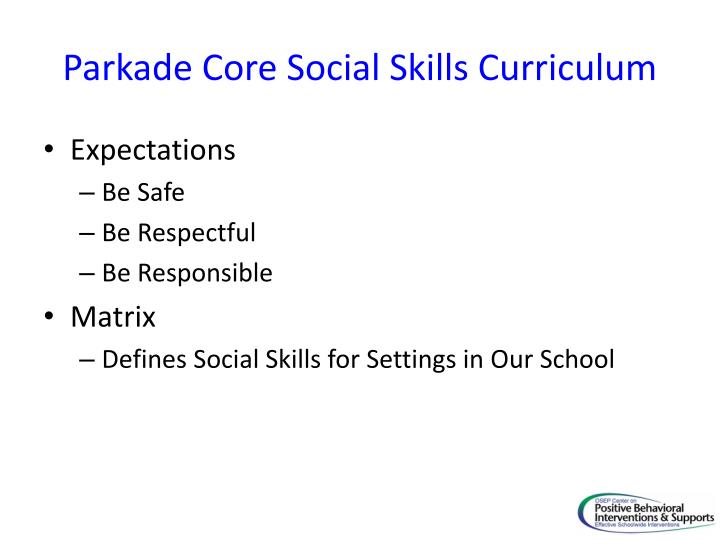 PPT - Essential Elements of Social Skill Instruction as a Tier II