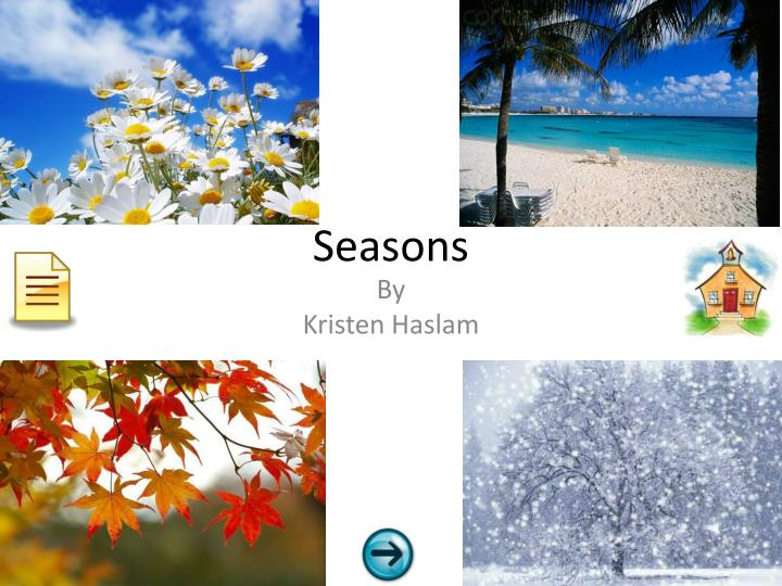 PPT - Seasons PowerPoint Presentation - ID2530547