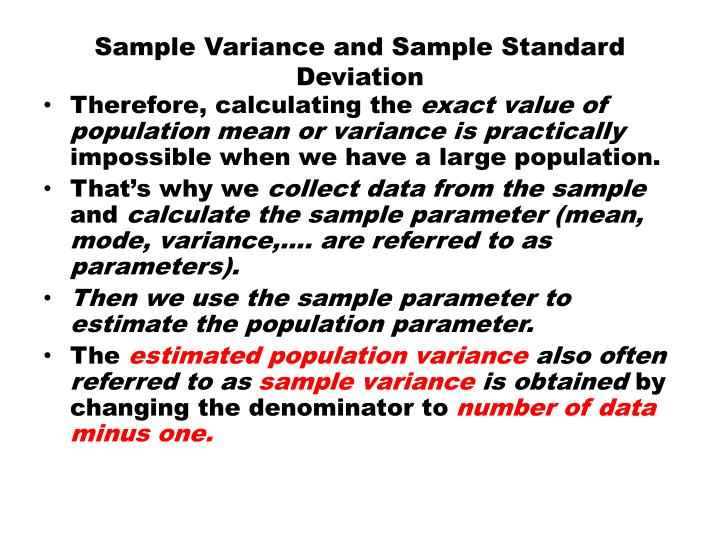 Sample Variance Calculator Online Pictures to Pin on Pinterest - sample variance