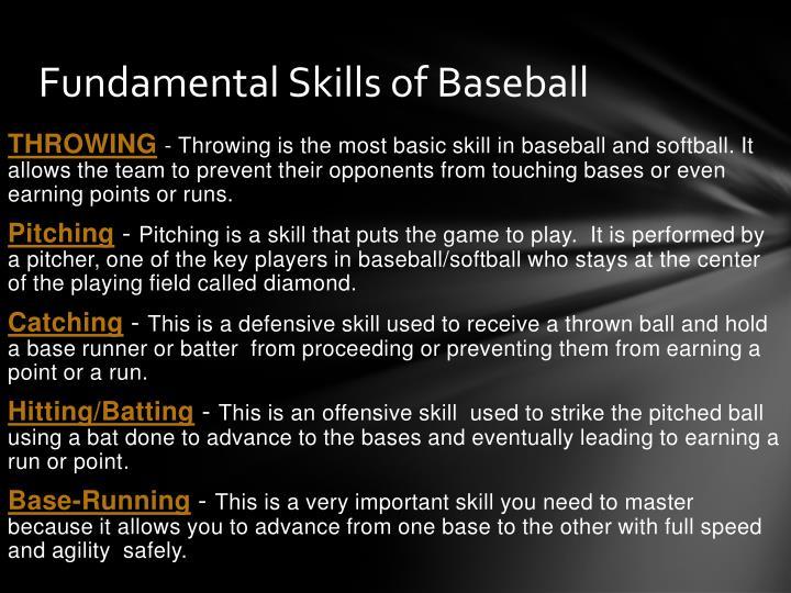 PPT - Team Sport Baseball PowerPoint Presentation - ID2572122
