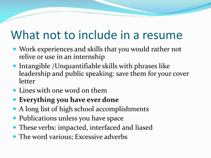 photo hunt what not to put on your resume how to get a job what