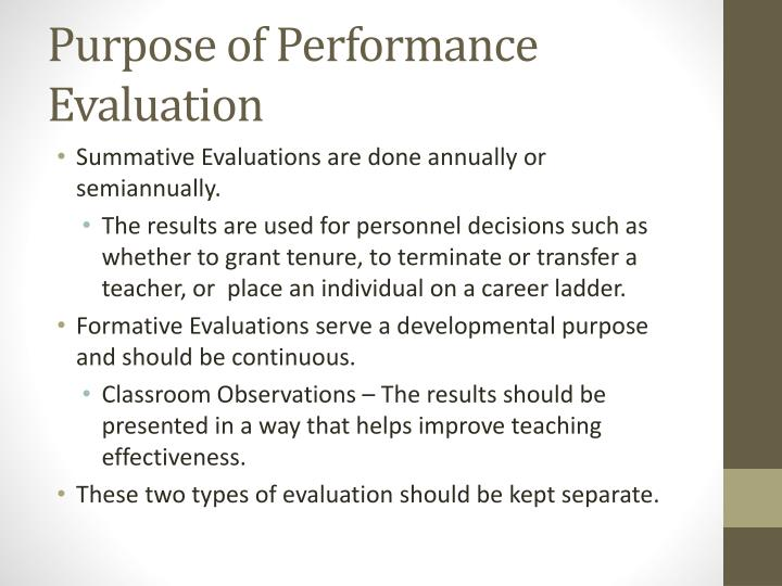PPT - Evaluating Employee Performance PowerPoint Presentation - ID
