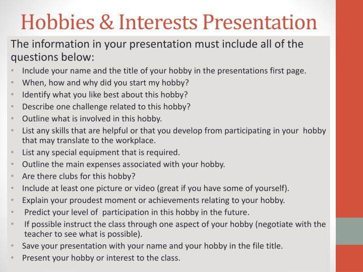 list special interests and hobbies on application - 28 images - cv - special interests and hobbies