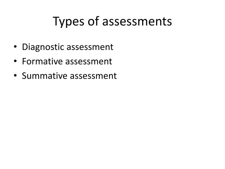 PPT - Assessment and evaluation PowerPoint Presentation - ID2711513