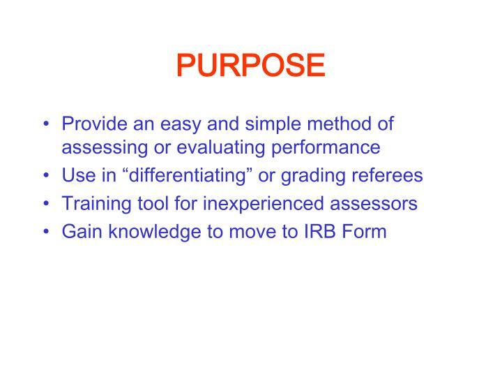 PPT - AUSTRALIAN REFEREE EVALUATION FORM PowerPoint Presentation