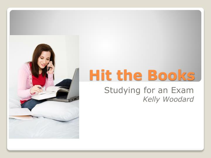 PPT - Hit the Books PowerPoint Presentation - ID2767957 - powerpoint books