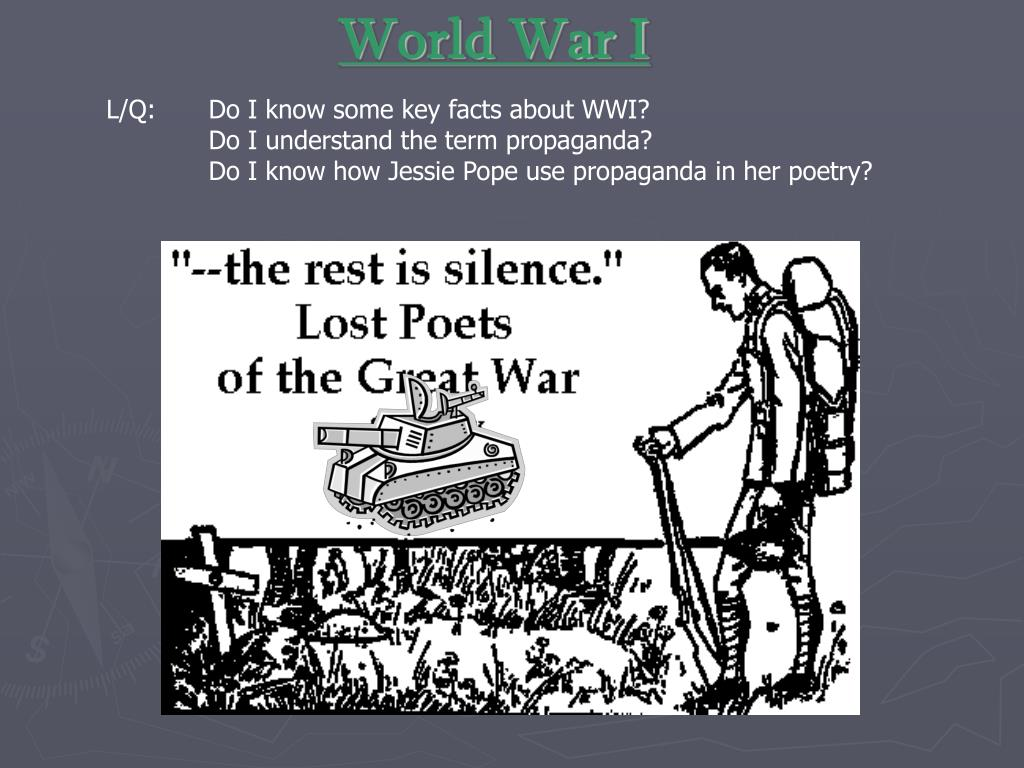 Facts About Wwi Ppt World War I Powerpoint Presentation Id 2779814