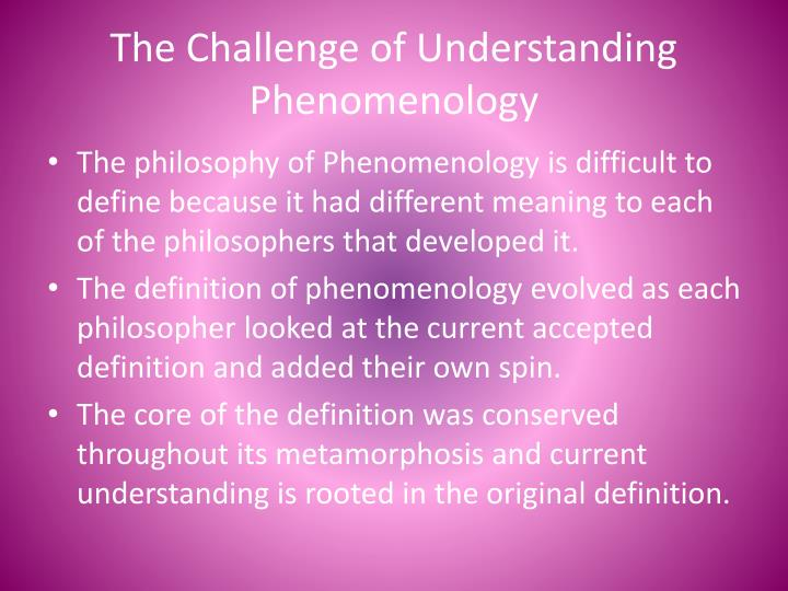 Tips for Writing an Effective Phenomenology research definition