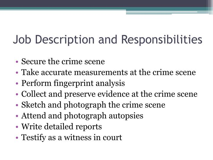 PPT - Careers in Forensic Science PowerPoint Presentation - ID2848819
