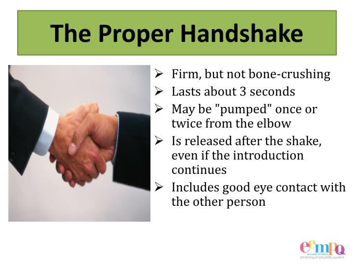PPT - Interview Etiquette PowerPoint Presentation - ID2853226